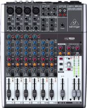BEHRINGER XENYX 1204USB Premium 12-Input 2/2 Bus Mixer with USB/Audio Interface